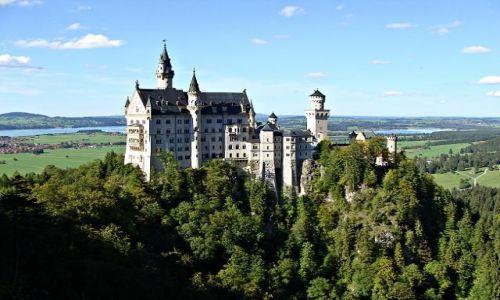 Zdjecie NIEMCY / Bawaria / Schwangau / Zamek Neuschwanstein