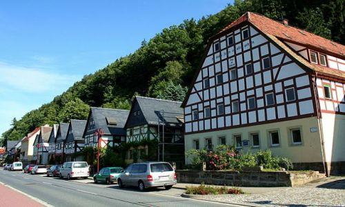 NIEMCY / Saksonia / Bad Schandau / Bad Schandau