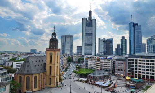 Zdjęcie NIEMCY / Hesja / Frankfurt am Mein / Śródmieście
