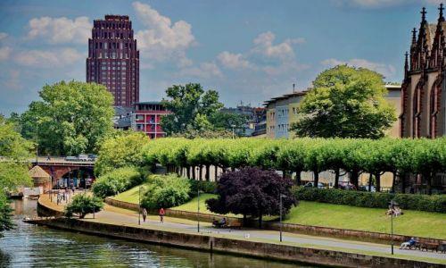 Zdjecie NIEMCY / Hesja / Frankfurt am Mein / Zielone miasto