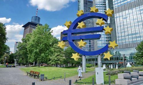 NIEMCY / Hesja / Frankfurt am Mein / Euro