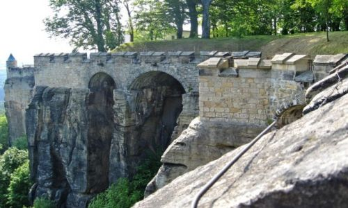 Zdjęcie NIEMCY / Szwajcaria Saksońska / Koenigstein / Twierdza Koenigstein 3