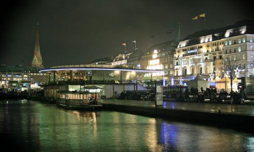 Zdjecie NIEMCY / - / Centrum - jezioro  Alster / Hamburg3