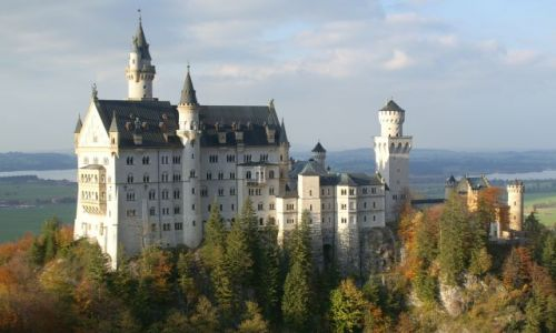 NIEMCY /  Bawaria / Schwanqu / Niemcy- Bawaria/schawanqau / Zamek