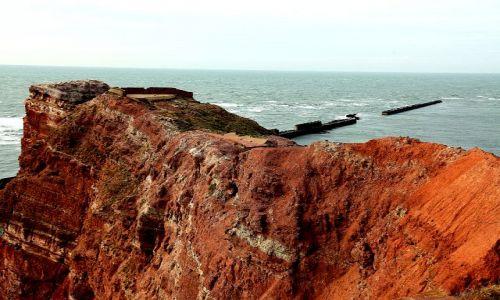 Zdjęcie NIEMCY / - / wyspa Helgoland / Czerwone klify