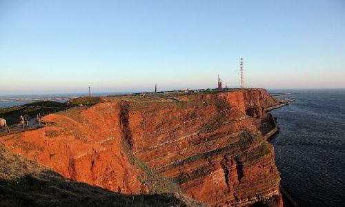 NIEMCY / - / wyspa Helgoland / czerwony klif
