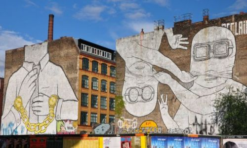 NIEMCY / - / Berlin / Berlińskie murale