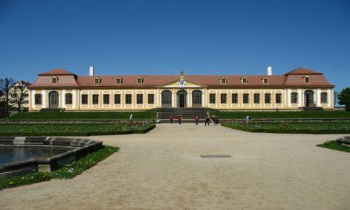 Zdjecie NIEMCY / - / Grossedlitz / letni pałacyk