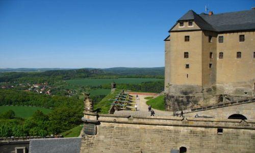 Zdjęcie NIEMCY / Saksonia / Konigstein / twierdza