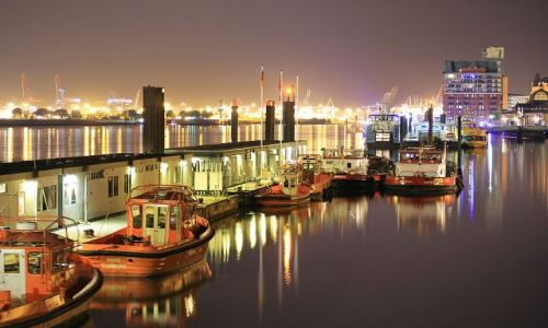 NIEMCY / Hamburg / Port . / Port