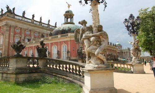 Zdjęcie NIEMCY / Brandenburgia / Poczdam / Sanssouci