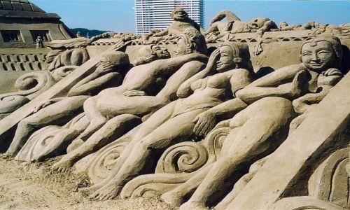 Zdjecie NIEMCY / Travemünde / Timmendorfer Strand / Sztuka z piasku