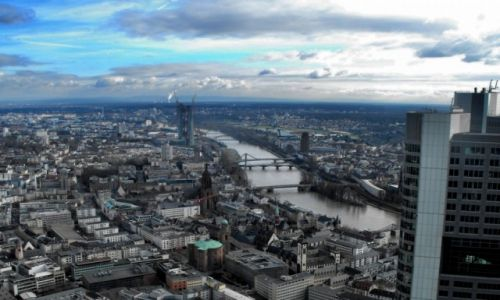 Zdjęcie NIEMCY / Hesja / City / Frankfurt n/Menem