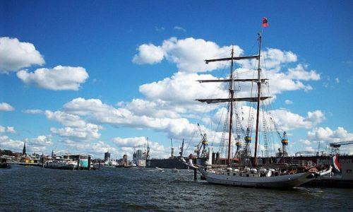 Zdjęcie NIEMCY / Hamburg /   / Port w Hamburgu