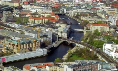 Zdjęcie NIEMCY / Brandenburgia / Berlin / Berlin nad Sprewą