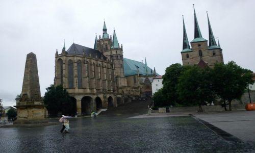 Zdjecie NIEMCY / Turyngia / Erfurt / Katedra w Erfurcie