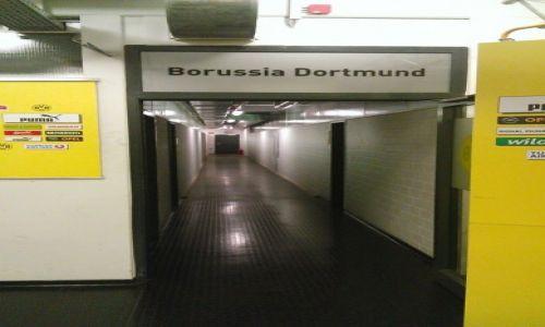 NIEMCY / Zagłębie Ruhry / Dortmund / Szatnia  BVB