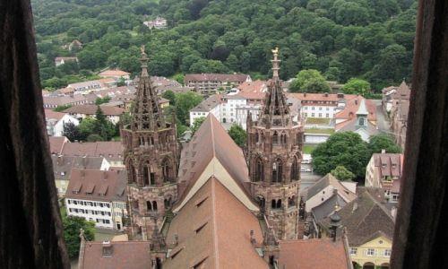 Zdjecie NIEMCY / Badenia - Wirtembergia / Schwarzwald / Freiburg - katedra