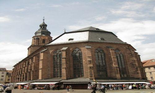 Zdjęcie NIEMCY / Badenia - Wirtembergia / Heidelberg / Heidelberg - katedra