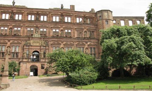 Zdjęcie NIEMCY / Badenia - Wirtembergia / Heidelberg / pałac Wittelsbachów