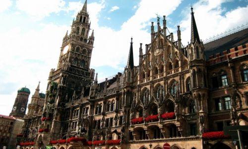 NIEMCY / Bawaria / Monachium / Nowy Ratusz
