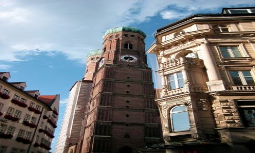 NIEMCY / Bawaria / Monachium / Frauenkirsche
