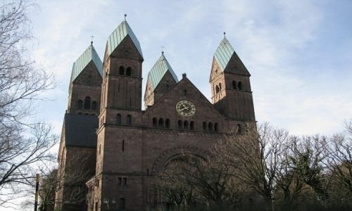 Zdjecie NIEMCY / Hesja / Bad Homburg / katedra