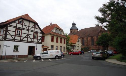Zdjęcie NIEMCY / Dolna Saksonia / Einbeck / Stare domy