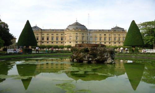Zdjęcie NIEMCY / Bawaria (Frankonia) / Wurzburg / Pałac arcybiskupi