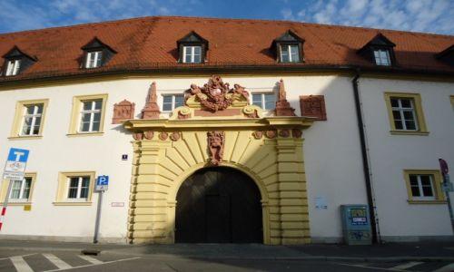 Zdjęcie NIEMCY / Bawaria (Frankonia) / Wurzburg / Wurzburg - zabudowa Starego Miasta