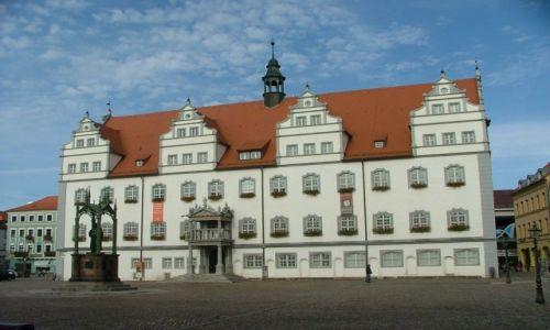 Zdjecie NIEMCY / Saksonia / Wittenberga / Ratusz w Wittenberdze