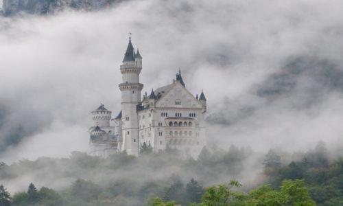 Zdjecie NIEMCY / Bawaria / Neuschwanstein / zamki bawarskie