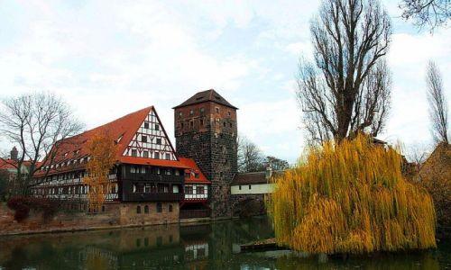 Zdjęcie NIEMCY / Bayern / Norymberga / Listopadowa Norymberga
