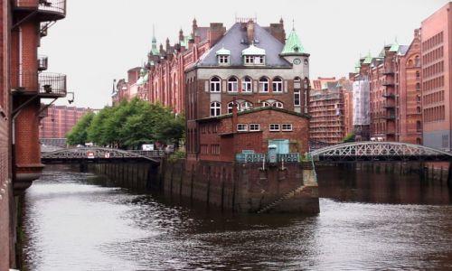 Zdjecie NIEMCY / Niemcy Północne / Hamburg / Dawna dzielnica portowa 1