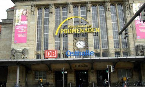 Zdjęcie NIEMCY / Lipsk / Lipsk / Dworzec w Lipsku