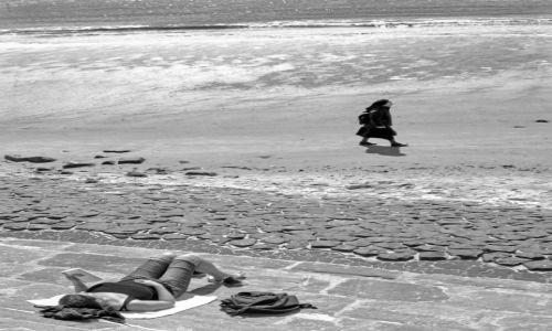 NIEMCY / Wyspy Fryzyjskie / wyspa Norderney / Na plaży