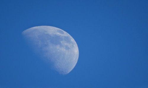 Zdjęcie NIEMCY / Bawaria / BAWARIA / ksieżyc na niebiesko