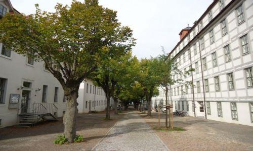 Zdjęcie NIEMCY / Saksonia-Anhalt / Halle / Budynki fundacji Francke (2)