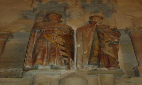 Zdjecie NIEMCY / Saksonia-Anhalt / Naumburg / Rzeżby w katedrze