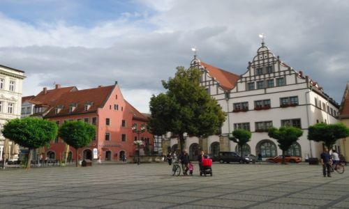 Zdjęcie NIEMCY / Saksonia - Anhalt / Naumburg / Rynek w Naumburgu
