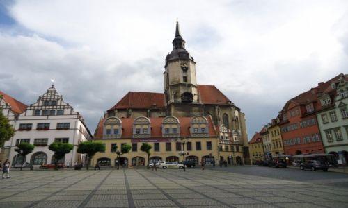 Zdjęcie NIEMCY / Saksonia - Anhalt / Naumburg / Rynek w Naumburgu (2)