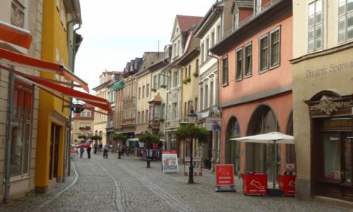 Zdjęcie NIEMCY / Saksonia-Anhalt / Naumburg / Naumburg - Stare Miasto (2)