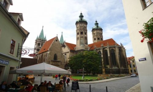Zdjęcie NIEMCY / Saksonia-Anhalt / Naumburg / Katedra w Naumburgu