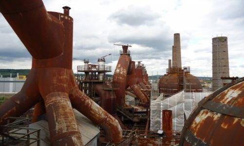 Zdjęcie NIEMCY / Saara / Volklingen / Huta żelaza (5)