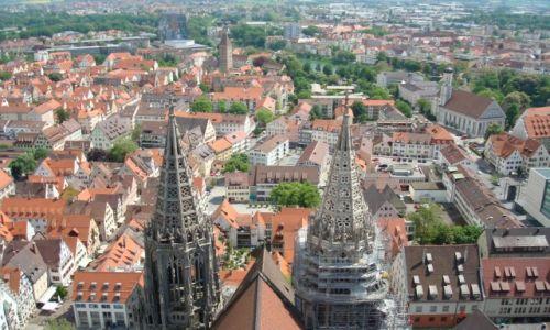 Zdjecie NIEMCY / Bawaria / Ulm  / Widok z katedry w Ulm