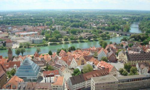 Zdjęcie NIEMCY / Bawaria / Ulm / Widok z katedry w Ulm 2