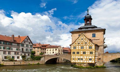 Zdjęcie NIEMCY / Franken / Bamberg / Rathaus