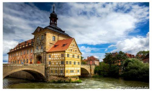 Zdjęcie NIEMCY / Franken / Bamberg / Altes Rathaus