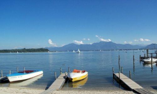 NIEMCY / - / Bavaria / Jezioro Chemsee