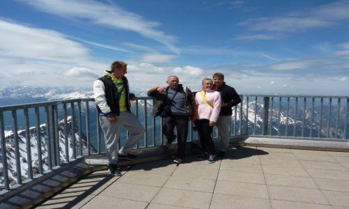 Zdjecie NIEMCY / Bawaria / Platforma widokowa na Zugsschpitze / Nad chmurami ?